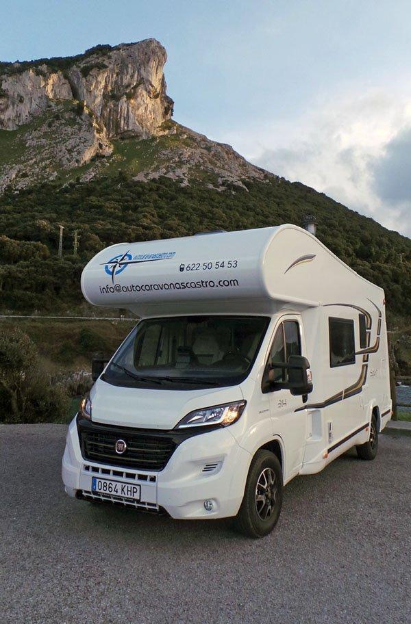 Alquiler de autocaravanas en Cantabria, Euskadi y Asturias - Autocaravanas Castro